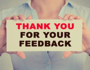 Thank you for your feedback message