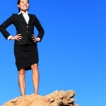 Success and challenges - business concept