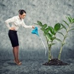 growing your business concept