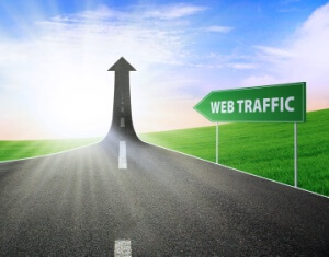 Image result for web traffic and leads