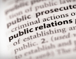 """public relations"" highlighted"
