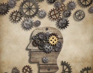 Brain mental activity, psychology, invention and idea