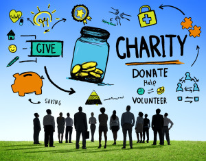 Corporate charity concept