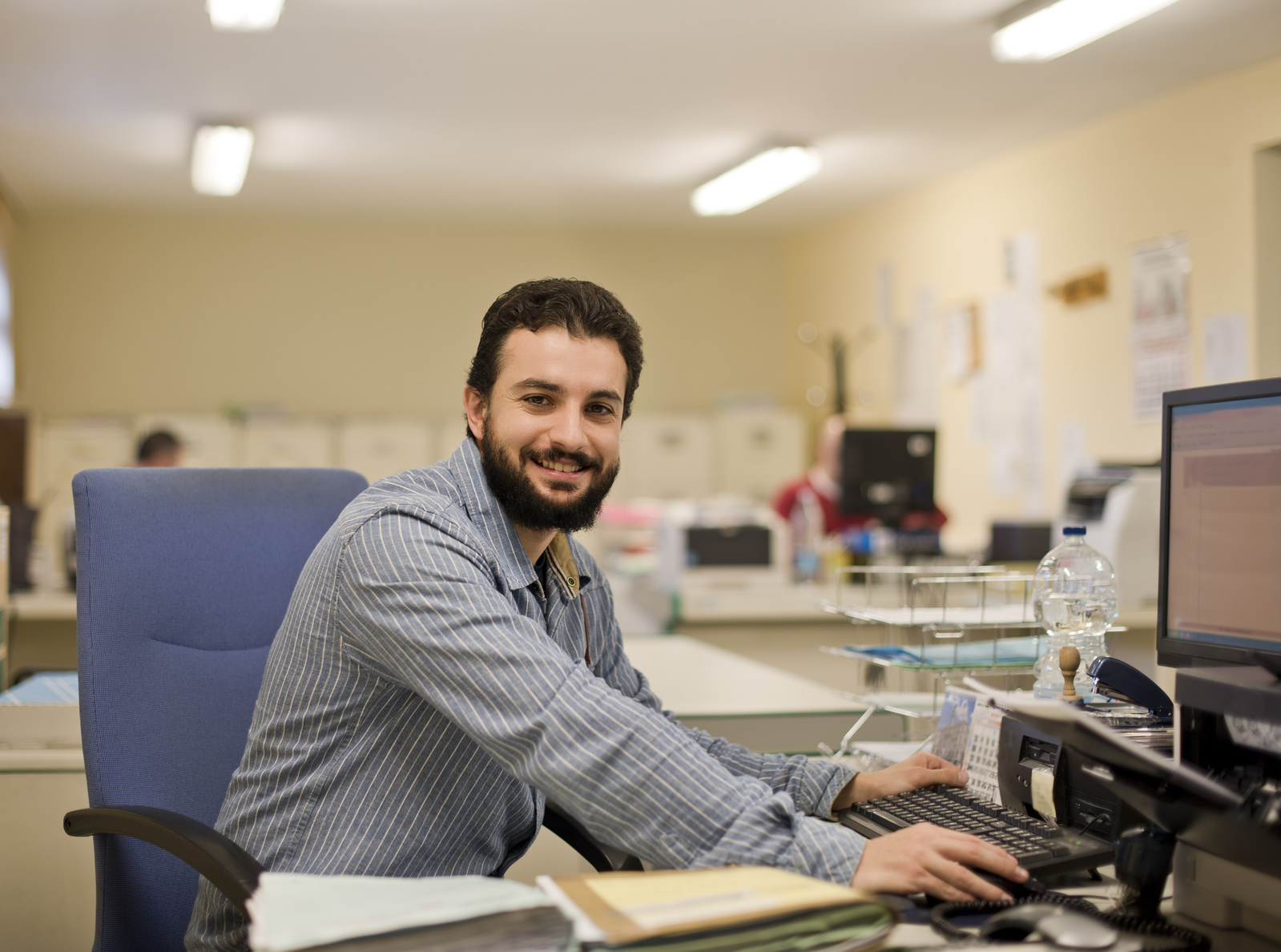 working office business loan processing bearded clerk training processor benefits allbusiness company mortgage fundamentals shutterstock