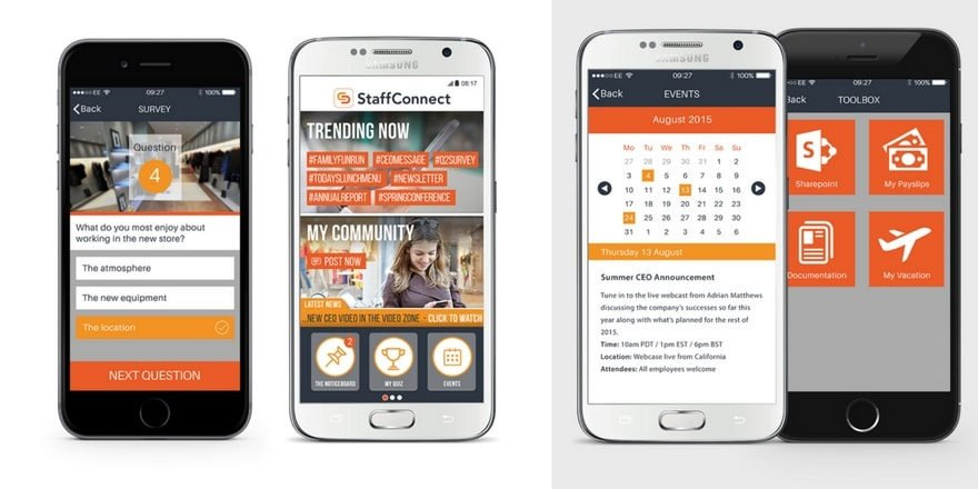 StaffConnect Mobile Employee App