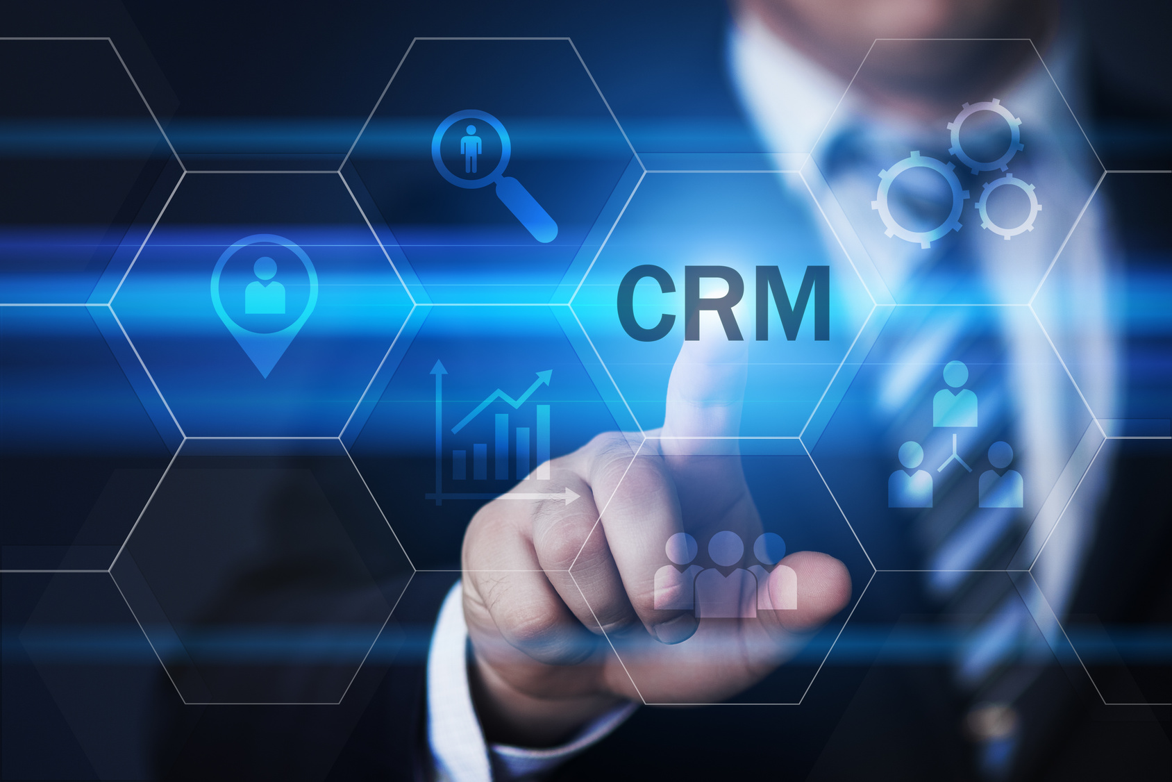 Technology Management Image: The Benefits Of Using A CRM System In Your Business: It's