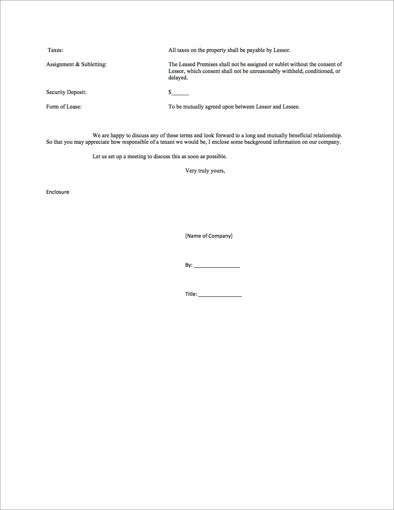 Landlord Letter To Terminate Lease How To End Your Lease Agreement