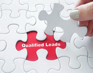 Qualified Leads on jigsaw puzzle