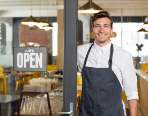 New small business owner
