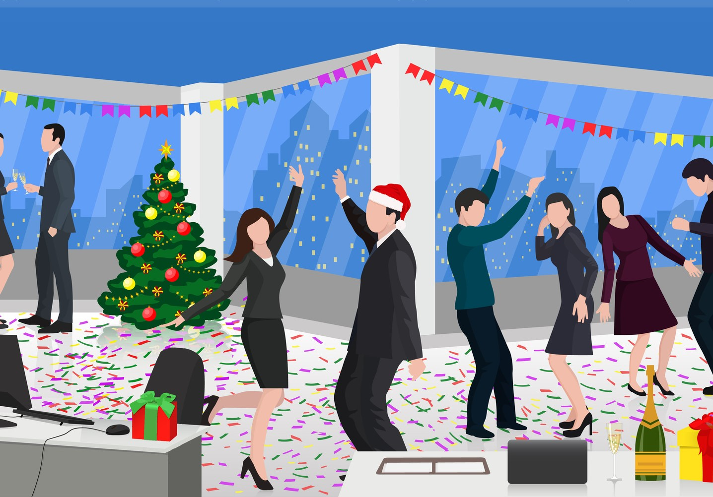 acb514798645e Turn the Company Holiday Party into a Strategic Career Opportunity ...