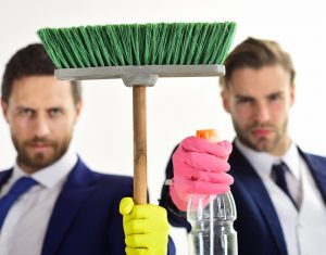 Housework, business concept