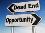 Dead End, Opportunity Two-way sign