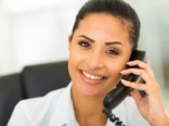 smiling-businesswoman-on-phone