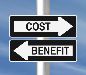 Cost Benefit Sign Posts