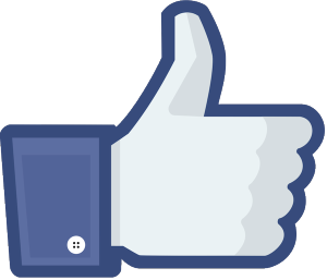 Facebook like icon