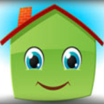 cute cartoon house