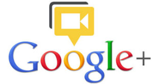 Google hangout on air logo