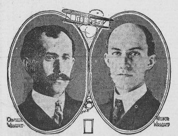 Orville Wright and Wilbur Wright