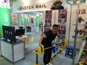 monster rail barbell invention
